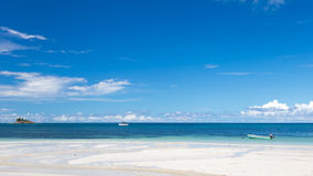 Panorama of the Indian Ocean Stock Photo