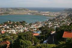 Panorama intorno a Wellington immagini stock libere da diritti
