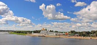 Panorama of Ipatiev monastery Royalty Free Stock Photography
