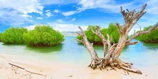 Panorama island stock photos