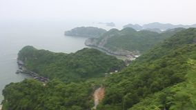 Panorama of islands Royalty Free Stock Image