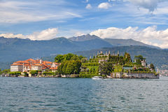 Panorama of Isola Bella Stock Photos