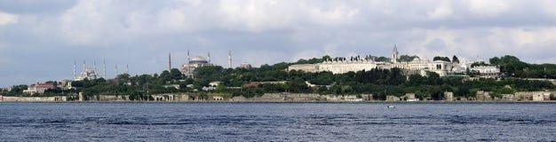 Panorama Istanboel Royalty-vrije Stock Afbeelding