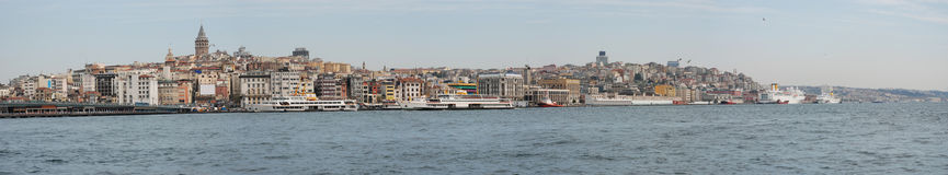 Panorama Istanbul Royalty Free Stock Images