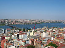 Panorama of Istanbul Royalty Free Stock Photos