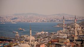 Panorama Istanbul stock video