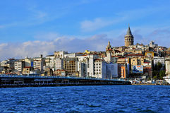 Panorama of Istanbul Stock Photo