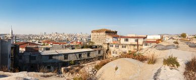 Panorama in Istanbul, Turkey Royalty Free Stock Photography