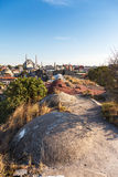 Panorama in Istanbul, Turkey Royalty Free Stock Image