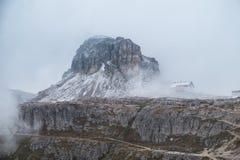 Panorama Italia della montagna delle dolomia Immagine Stock