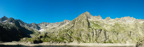 Panorama of the Italian Alps Royalty Free Stock Images