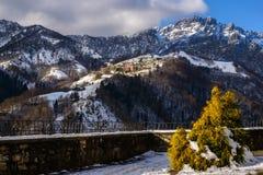 Panorama italian Alps Stock Photos