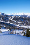 Panorama of Italian Dolomites Royalty Free Stock Photo