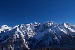 Panorama of Italian Dolomites Royalty Free Stock Photo