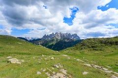 Panorama italiano della montagna Immagini Stock Libere da Diritti