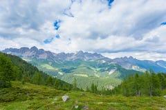 Panorama italiano della montagna Fotografie Stock
