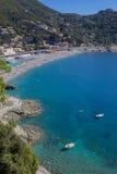 Panorama italiano típico de la playa Foto de archivo