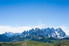 Panorama italien de montagne photographie stock