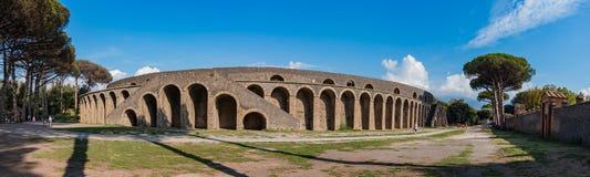 Panorama IV del anfiteatro fotografía de archivo libre de regalías