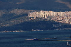 Panorama of Izmir (Turkey) Stock Image