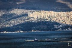 Panorama in Izmir - Turkey Stock Photography