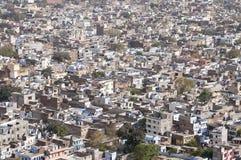 Panorama of Jaipur, Rajastan, India Stock Photo