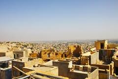 Panorama of Jaisalmer Stock Photography