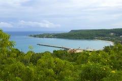 Panorama Jamajka, Meksyk, Karaiby Obraz Royalty Free
