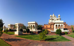Panorama of Jaswant Thada mausoleum in India Stock Photography