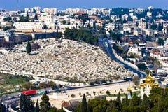 Panorama of Jerusalem. City, Israel Stock Photos