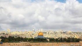Panorama of Jerusalem Royalty Free Stock Image