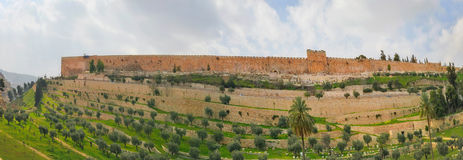 Panorama in Jerusalem Stock Photography
