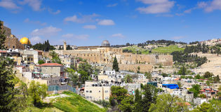 Panorama of Jerusalem Stock Photo