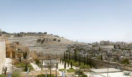 Panorama of Jerusalem city Stock Image