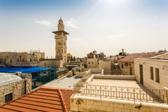 Panorama of Jerusalem city center, Israel Stock Photos