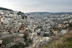 Panorama of Jerusalem Royalty Free Stock Photo