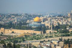 Panorama in Jerusalem Stock Photo