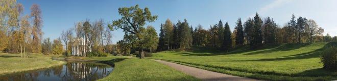panorama jesienią obraz royalty free