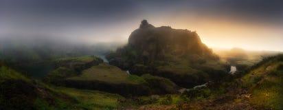 Panorama jeziora w losie angeles Arboleda Obrazy Stock