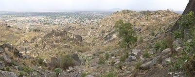 Panorama of Juba, South Sudan Royalty Free Stock Photo