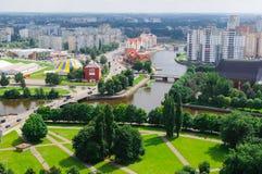 Panorama of Kaliningrad Stock Image