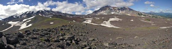 Panorama Kamchatka Fotografía de archivo