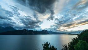 Panorama kanton lucerna Szwajcaria obrazy royalty free