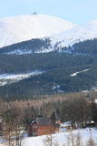 Panorama of Karkonosze Mountains. Poland Stock Image