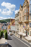 Panorama of the Karlovy Vary Stock Photo