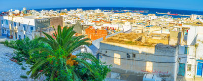 Panorama from the Kasbah Royalty Free Stock Photography