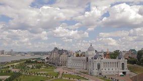 Panorama of Kazan stock video footage