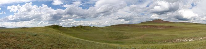 Panorama Khakassia Royalty Free Stock Images