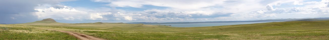 Panorama Khakassia Stock Images