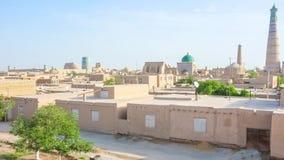 Panorama of Khiva stock video footage